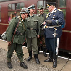 I Have A Cunning Plan... (Nigel Lingings) Tags: history funny uniform weekend nazi wwii railway german reenactment 40s wartime goering