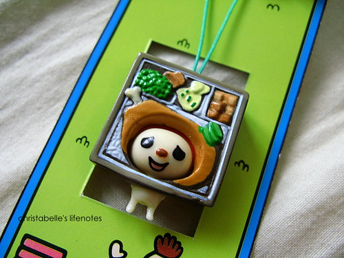 open小將三歲手機吊飾