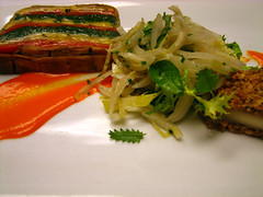 Grilled Summer Vegetable Terrine and Hazelnut ...