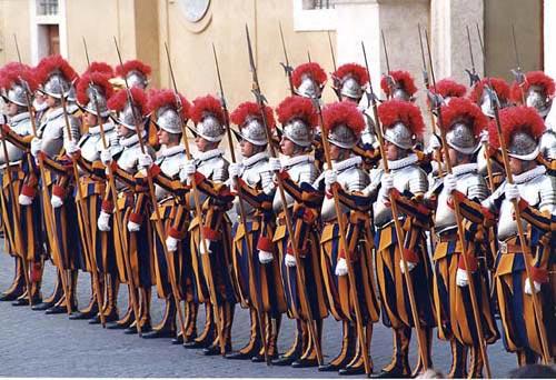 garde pontificale suisse
