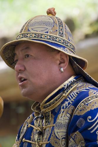 mongolischer musiker