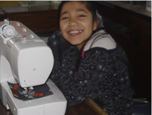 Young Minds Growing through Sewing in Detroit