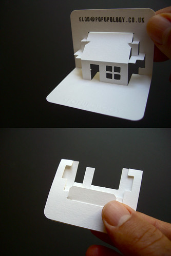 New 3 D Business Card Series Vii House A Photo On Flickriver