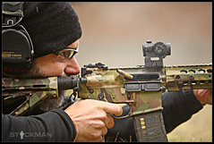 Costa and his Multicam death machine (stickgunner) Tags: stickman chriscosta