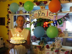 Sept. 8th/07. (Elvisyna) Tags: birthday september his bernie wish making 807 bernies 54th