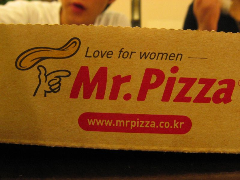 Mr. Pizza Has Love for Women