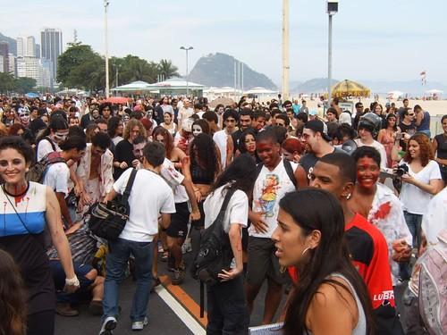 IV Zombie Walk Rio de Janeiro - Crawl of the Dead