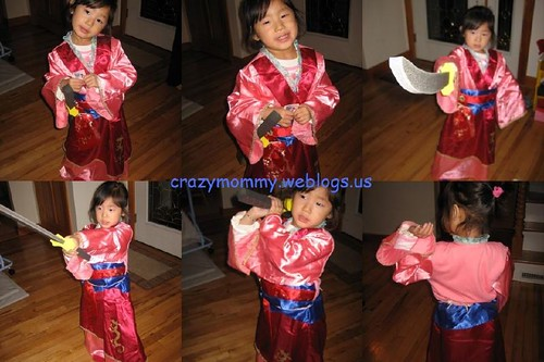 One of the girlu0027s idols is Mulan and she loves to role-play as her. She had been eyeing on the Mulan costume since she saw it in the Disney store a few ...  sc 1 st  The Lazy Stay-at-Home Mommy - Weblogs.us & The Lazy Stay-at-Home Mommy » sneak preview : halloween costume u002708