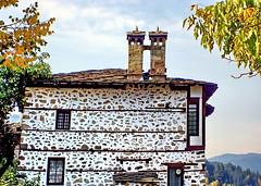 Chimney - bridge (Emilofero) Tags: bridge roof chimney house tile europe bulgaria tiles balkans rodopi smolian mywinners