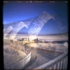 (magnifik 2.0) Tags: california 120 scanned deathvalley pinholephotography expiredfilm multipleexposures badwaterbasin homemadecamera charcoalkilns fujipro160s magnifik 5secondsexposure royaljamaica pinholediameter015mm nopsdpostprocessing cigarboxpinholecamera focallength55mm expiredon112006 daytimesunlight magnifikstudio magnifikstudiocom