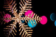 Lights of the Season (dawn_perry) Tags: snowflake christmas winter light snow window lights interestingness bokeh decoration mini explore cling stlmc006