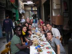 Pranzo in strada