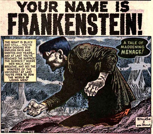 Your Name is Frankenstein! p1 w