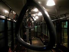 Fuori dal tunnel. (*Eleonora*) Tags: milano tram luci freddo notte piazzafontana maniglie milanodomino trashbit