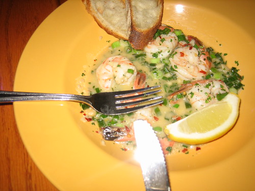Crabby Billys steamed shrimp