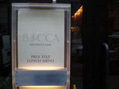 lunch @ bocca (h-bomb) Tags: nyc food lunch bocca