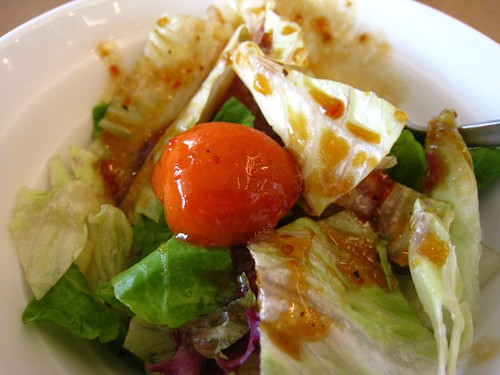 Salad @ Pasta de Waraku.JPG