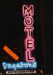 NV, Las Vegas-U.S. 93 & 95(Old) Vagabond Motel