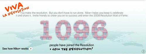 Nike Plus Resolutions