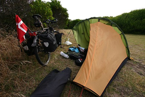 Wild camping in Warrnambool...