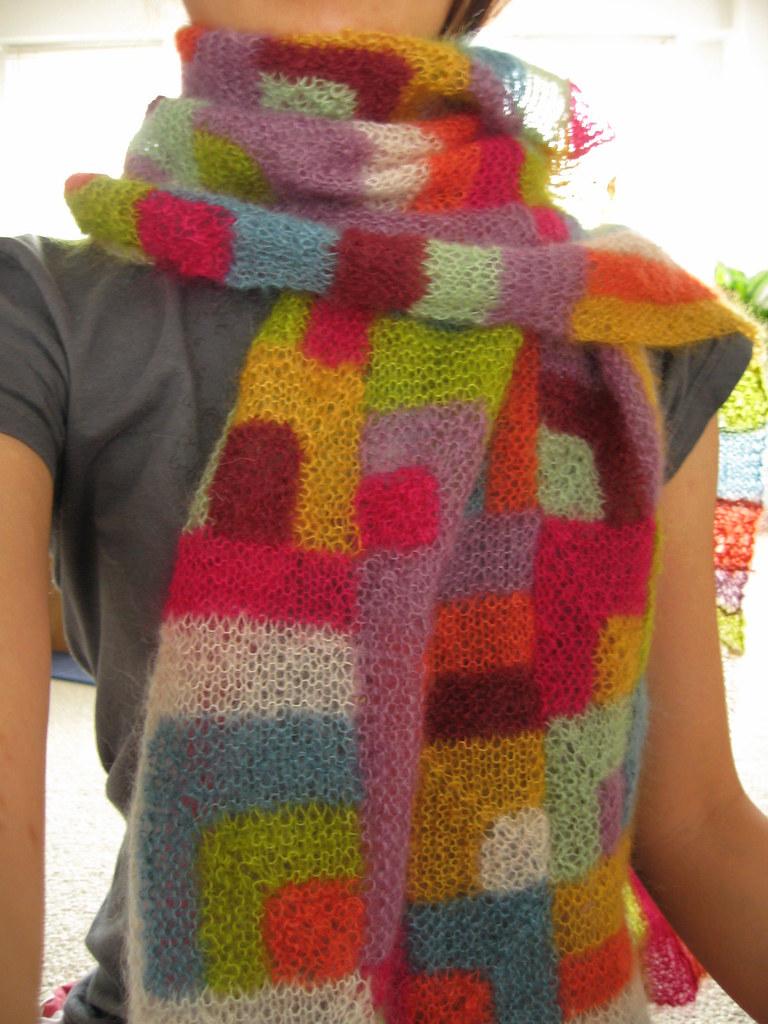 Modern Quilt Wrap worn_01