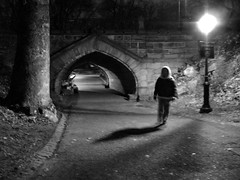 Central Park after dark (moocatmoocat) Tags: white newyork black night shadows centralpark manhattan moo 406 superaplus aplusphoto