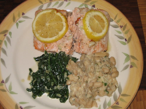 yummy baked salmon