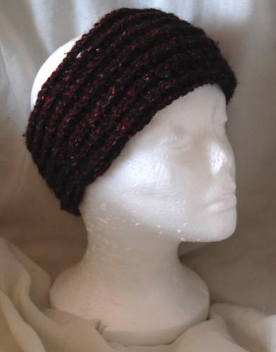 crochet winter head wrap