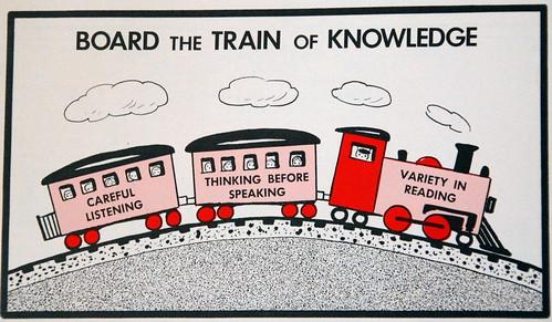Board The Train Of Knowledge