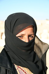 Blowing in the Wind (hazy jenius) Tags: portrait woman middleeast hijab syria niqab palmyra tadmoor tadmour