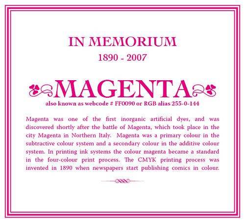 Free magenta
