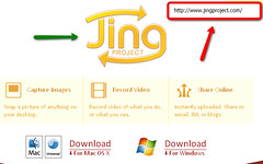 Jing Project upload
