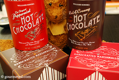 Williams-Sonoma Hot Chocolate and Handcrafted Marshmallows