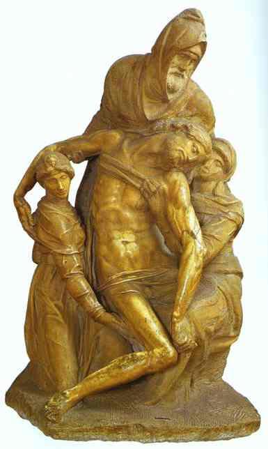 MICHELANGELO, Buonarroti, Pietà, c1550
