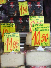 Queso in Madrid