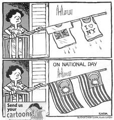 malaysia cartoon-merdeka day1 (Kartun Malaysia) Tags: humor cartoon independenceday wit cartoons merdeka cartoonist malaysians cartoonists editorialcartoon kher satires harimerdeka kherchengguan malaysianhumor malaysiancartoonist malaysiacartoon kartunmalaysia