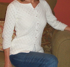 Martha (kristenknits) Tags: knitting cardigan