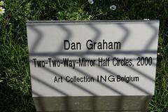 dg nameplate (quarsan) Tags: brussels sculpture artwork belgium publicart dangraham