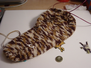 2nd sock