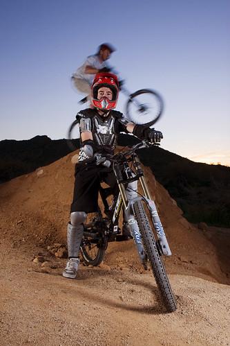 Mountain Bike Portrait With a Jumper!