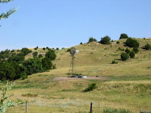 Western Nebraska windmill
