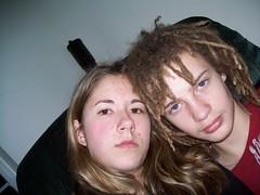 Me & My boyfriend (kittycartooncat) Tags: me sitting hangin hanging sittin myboyfriend