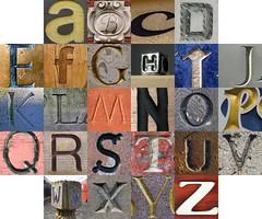 Concave letters