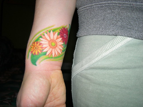 San Francisco · gerbera daisies tattoo