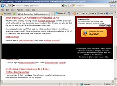 IE8 breaks the cherny.com footer