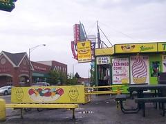 Toots (Mr. Montrose) Tags: chicago kodak central montrose demolished