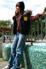 mai ashiya (raid_blood) Tags: portrait girl model location human     downvest   toyamapark   maiashiya  wacthcap  maiashiya0610a