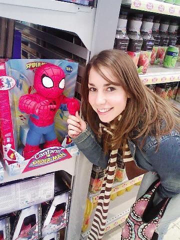 Susana con Spidey