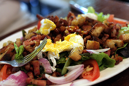 salad at le nemrod