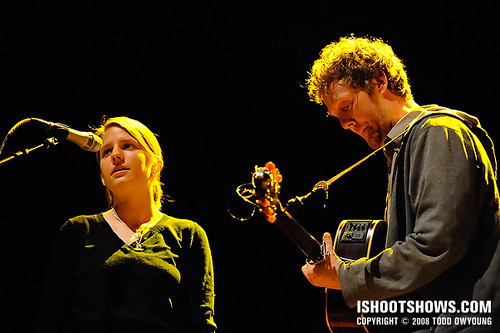 Glen Hansard & Markéta Irglová @ the Pageant 2008.05.06